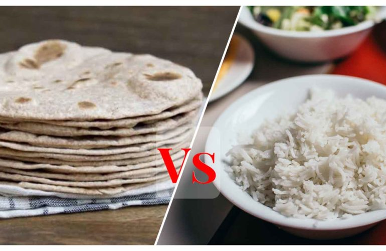 What is good for health – Roti or Rice