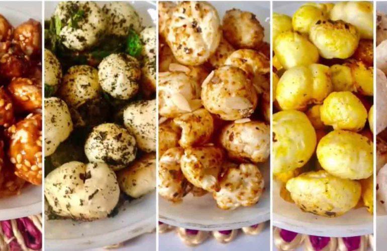 5 Phool Makhana Snacks Recipe
