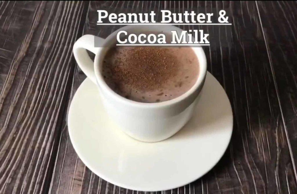 Peanut Butter and Cocoa Milk