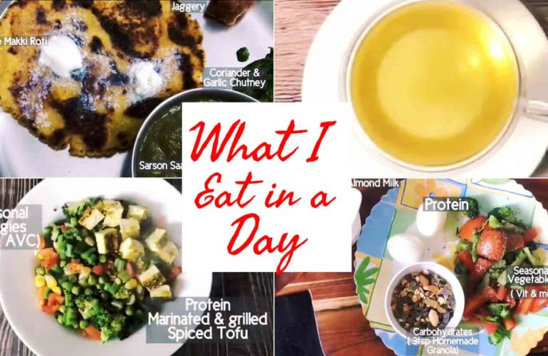 What I Eat in A Day: January Meal Plan